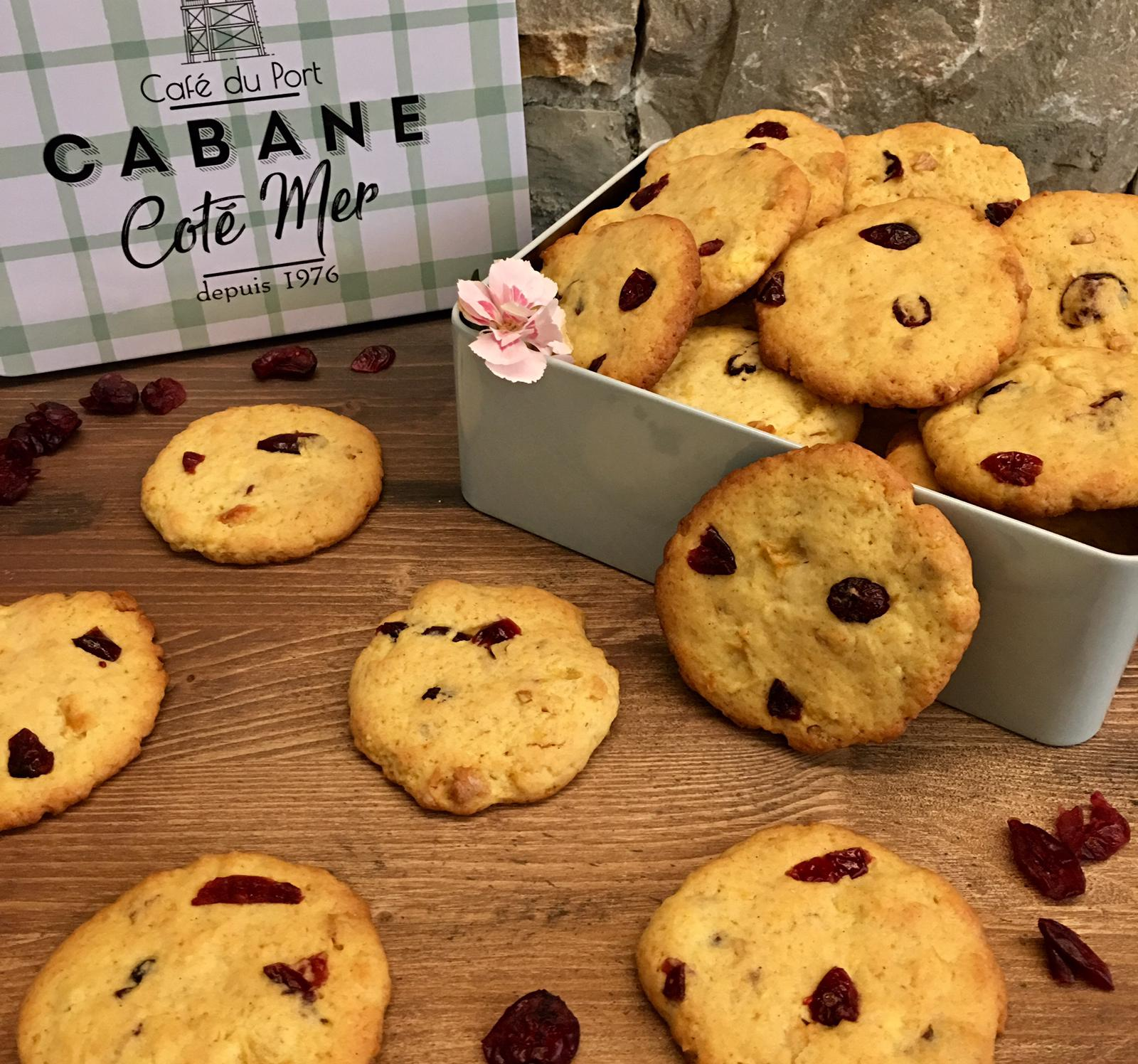 COOKIE AI CRANBERRY CON MELE E NOCI