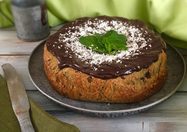 TORTA AFTER EIGHT AL COCCO (Senza Uova e Senza Burro)