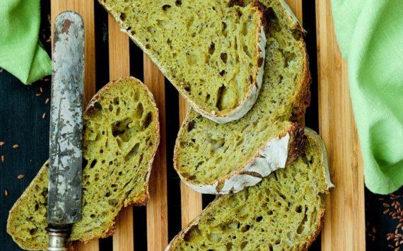 TOTAL GREEN BREAD (Canapa e Spirulina)