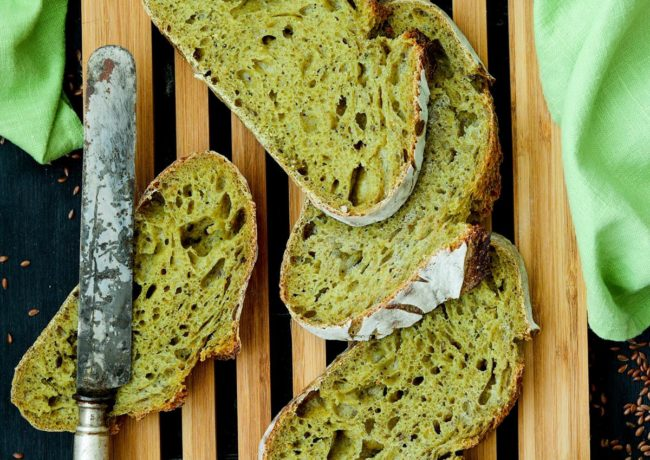 TOTAL GREEN BREAD (Canapa e Spirulina)