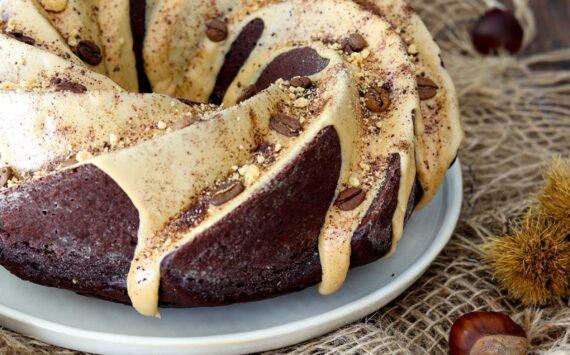 BUNDT CAKE FONDENTE AL CAFFE'