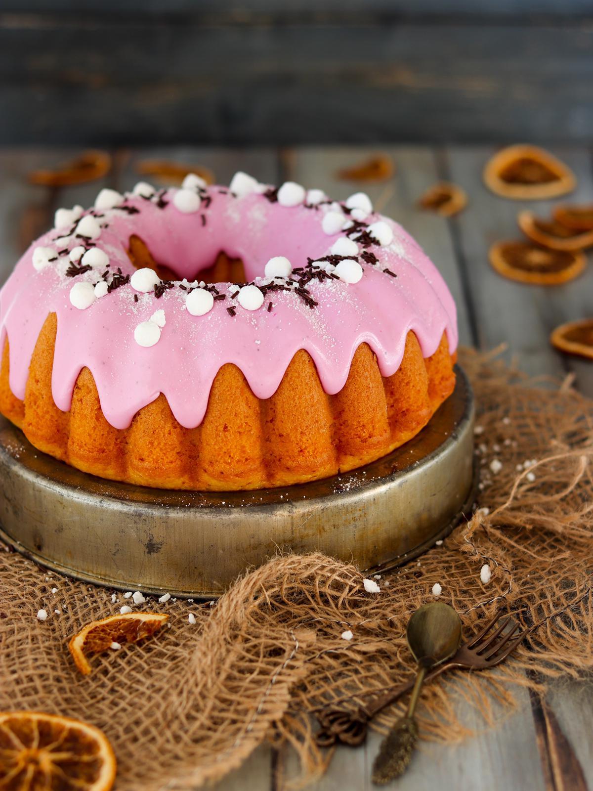 BUNDT CAKE ALL'ACQUA E SPREMUTA DI ARANCIA